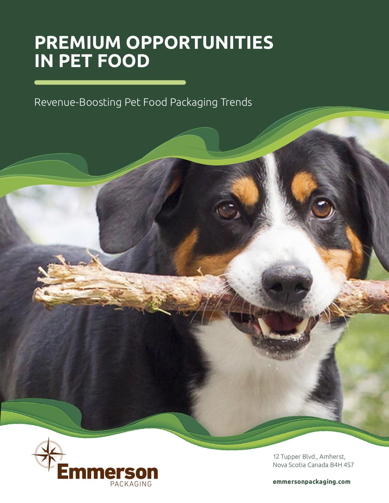Premium Opportunities in Pet Food